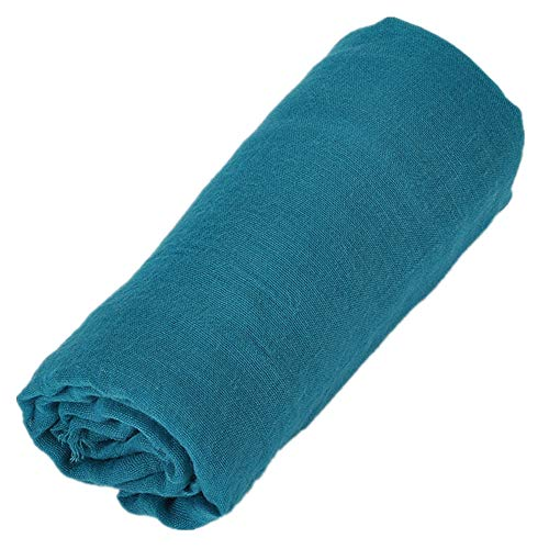 NQING Baumwolle Und Leinen Schal Damenmode Einfarbig Qualität Schalldämpfer Sommer Sonnenschutz Atmungsaktiv Schal
