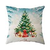 kissenbezüge,Hunpta Weihnachten Home Dekoration Büro Sofa Geometrische Design Kissen Platz Kissen Kissenbezug Kissenbezug (E)