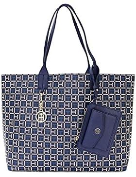 Tommy Hilfiger Reversible WOMEN'S BAG | DAMEN Handtasche, Monogram TOTE