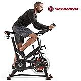 Schwinn Speedbike IC7 - Bicicletta Fitness, Telaio in Acciaio Verniciato a Polvere, 18 kg, volano PWD, paracolpi