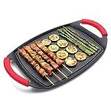 Lacor 25536 - Plancha/grill de aluminio