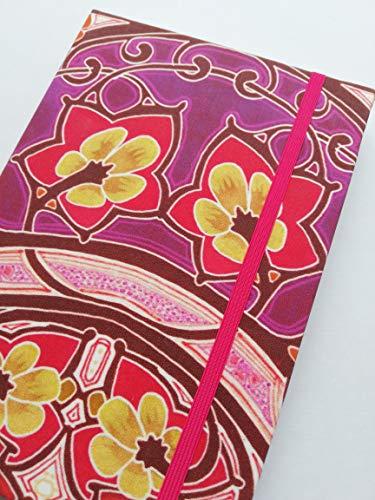 Notizbuch Tagebuch Kladde Hardcover A5 stoffbezogen'Art Nouveau' Ornamente Jugendstil Geschenk...