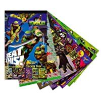 Toys & Gamers Childrens STICKER BOOKS 6 Sheets with over 100 Stickers (Teenage Mutant Ninja Turtles)