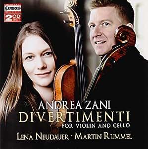 Andrea Zani: Divertimenti for Violin & Cello by Capriccio