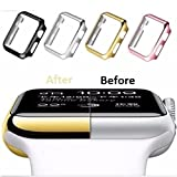 Coque en TPU Maxipro pour montre Apple série 3 - iWatch 38 mm - Film de protection...