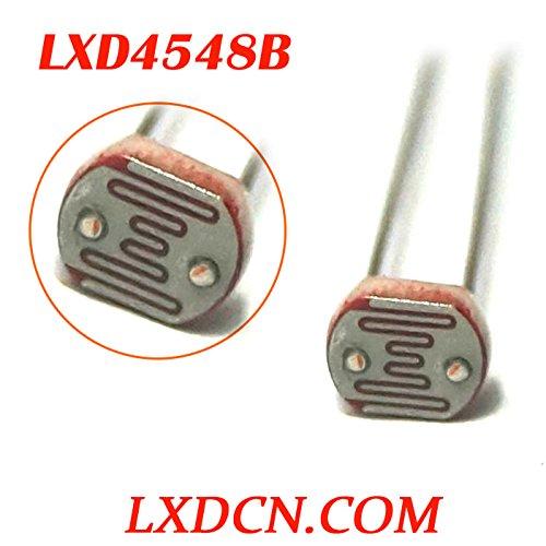 photoresistor lxd4548b mit Widerstand: 2mohm/Light, 45–50kOhm LDR, 4mm, von light-dependent Resistor, 0