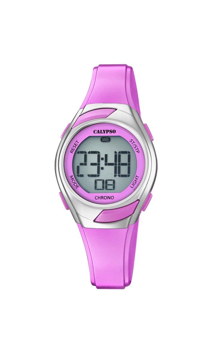 Calypso Reloj Digital para Mujer de Cuarzo con Correa en Plástico K5738/2