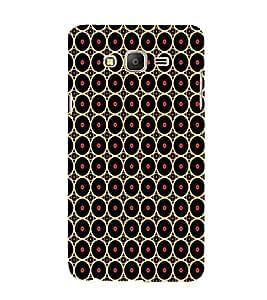 ifasho Designer Phone Back Case Cover Samsung Galaxy On7 Pro :: Samsung Galaxy On 7 Pro (2015) ( Pink Blue Red Patterns Design )