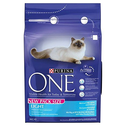 Purina One Light Cat Reich an Huhn & Weizen Trockenfutter 3kg