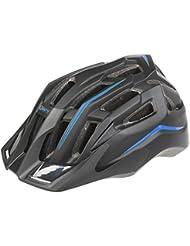 Mighty Black Hawk Blue L Casque de Vélo Mixte, Bleu, L