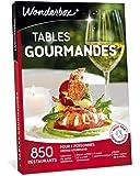 Wonderbox - Coffret cadeau couple - TABLES GOURMANDES – 850 restaurants renommés, brasseries chics