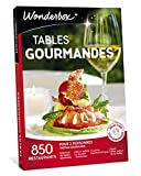 Wonderbox - Coffret cadeau couple - TABLES GOURMANDES - 850 restaurants renommés, brasseries chics...