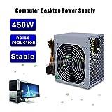 Binghotfire PC-Netzteil Computer Strom Lüfter leise (Voll-Modulares Kabelmanagement, 80 Plus Gold, 850/600 / 500/450 Watt, EU) Wahlbar (450W)