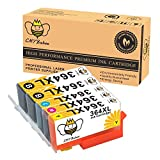 CMYBabee 5-Pack Remplacement Encre Cartouche pour HP 364XL 364 XL (1 Noir, 1 cyan, 1 magenta, 1 jaune) Grande capacité Utilisé dans HP Photosmart 5510 5511 5512 5514 5515 5520 5522 5524 6510 6520 6512 6515 7510 7520 7515 B8550 B8558 C5370 C5373 C5324 C6388 D5460 D5463 B110a B110c B010a B010b B111a B109a B109b C309a C309c B209a B210a HP Deskjet 3070A