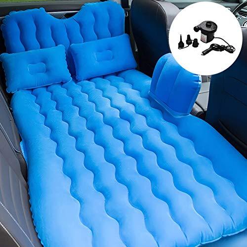 Zcjb cuscino for lettino da campeggio portatile da viaggio for lettino gonfiabile for campeggio esterno di breve durata, 2 cuscini d'aria inclusi (color : blue, size : l 73'' x w 35'')