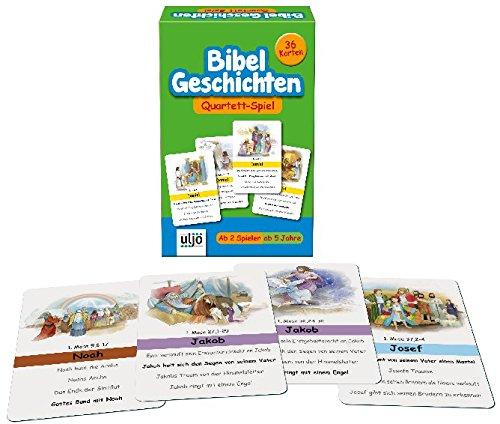 Bibel-Geschichten-Quartett,36 karten,ab 5Jahre