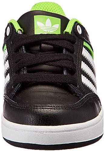 adidas Varial J, Scarpe da Skateboard Bambino Nero (Negro (Negro (Negbas / Ftwbla / Versol)))