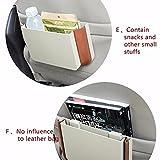 Inglis Lady O Portable Car Trash Dustbin Box with Hook Garbage Storage Multicolour