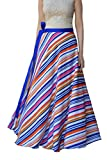 DeeVineeTi Striped Women's Wrap Around S...