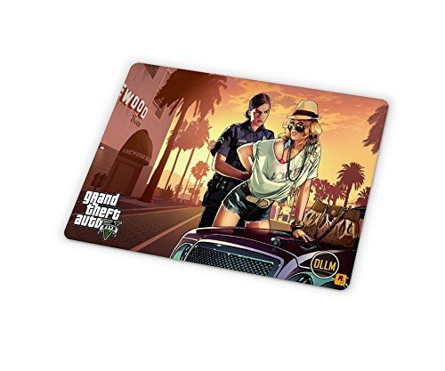 Dllm online multiplayer GTA videogioco antiscivolo computer Gaming Mouse pad Mat - DMMGS05