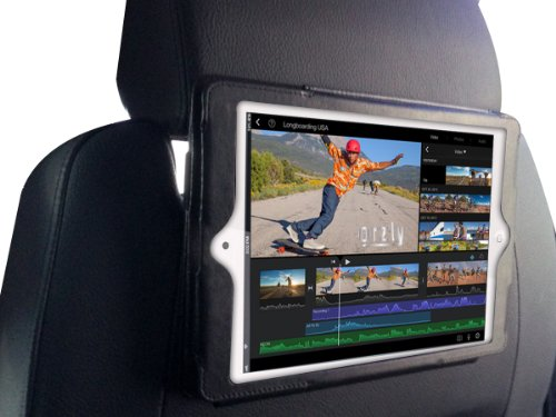 Orzly - Soporte para reposacabezas del coche para Apple iPad Mini, color negro