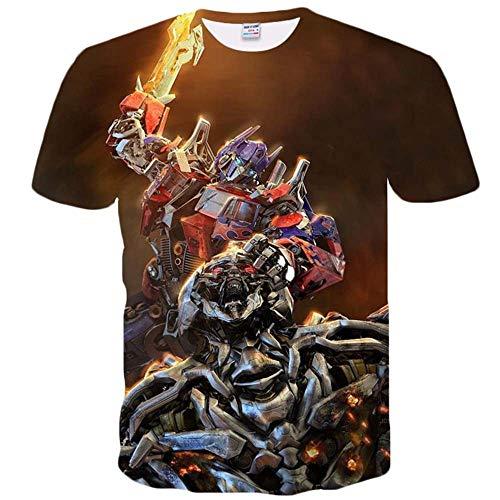 Prime Transformatoren, Kurzarm Für Männer, 3DT-Shirt, Bedrucktes T-Shirt, Optimus, Megatron