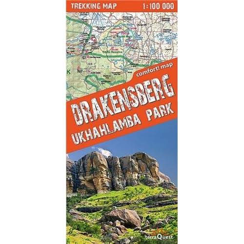 DRAKENSBERG-UKHAHLAMBA PARK  1/100.000
