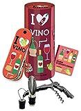 I love vino. Piacere da bere. Con gadget