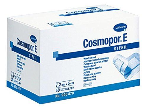Hartmann Cosmopor e dressing, 7.2cm x 5cm, confezione da 50
