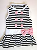 #9: douge couture soft stripe dress for dog (30)