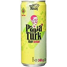 Papa Türk 00261 Original, 24 x 0,33 L Dosen, Kuss-Trunk aus der Höhle der Löwen - Bleib Lecker!