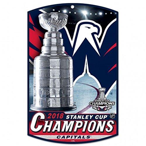 Stockdale Washington Hauptstädte 2018Champions WC Premium 11x 17Holz Wandschild Stanley Cup (Champion-wc)