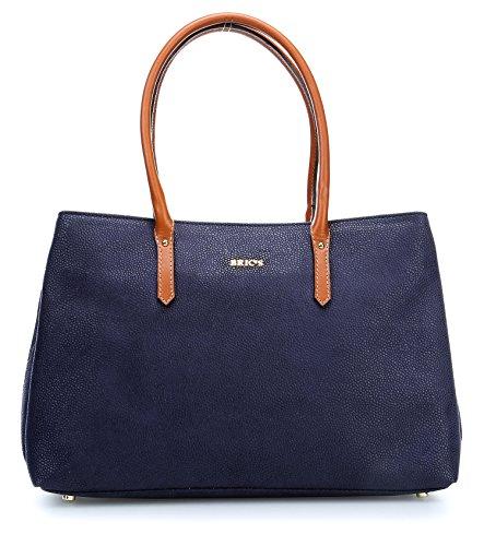 Bric's Life Shopper Tasche 32 cm blue