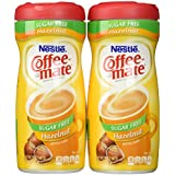 Coffee Mate Hazel Nut Sugar Free Powder (pack of 2)