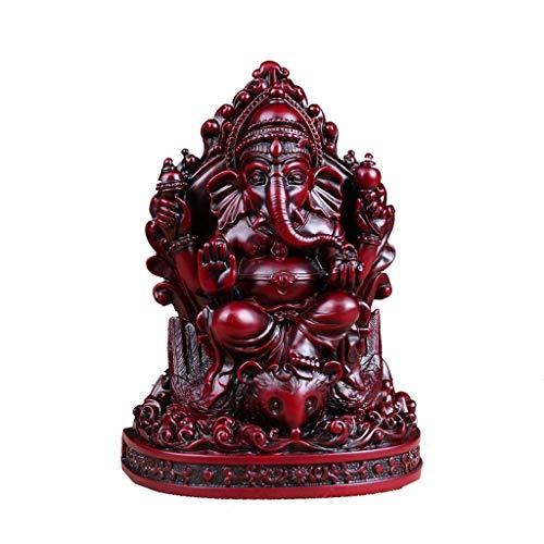 nt Gott des Reichtums Buddha-Statue, 4.7x2.8x6.5in Desktop Harz Ornamente Südostasiatische Götter Glück Ornamente ()