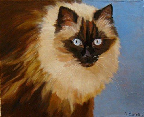 portrait-de-chat-ragdoll-tableau-peinture-lhuile-originale-et-unique-par-anne-zamo