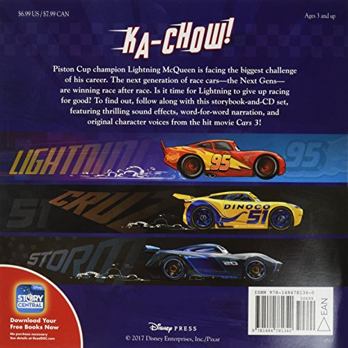 Image of Cars 3 Read-Along Storybook and CD