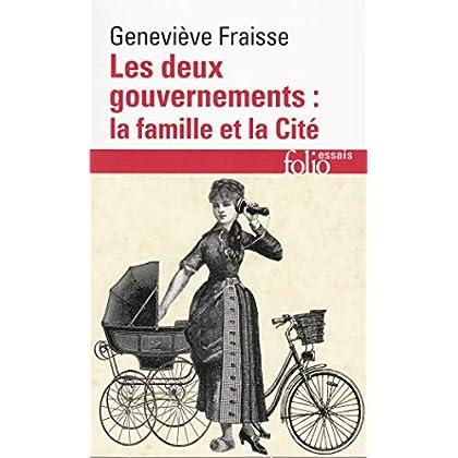 Les deux gouvernements, la famille et la cité