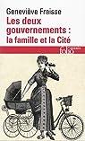 Les deux gouvernements, la famille et la cité par Fraisse
