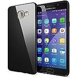Samsung Galaxy A5 2016 Coque Protection de NICA, Housse Silicone Portable Mince Souple TPU Tele-phone Case Cover Premium Incassable Ultra-Fine Resistante Gel Slim Bumper Etui - Noir
