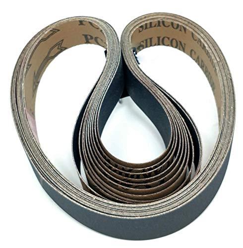 2,5 cm. x 76,2 cm. Choose Your Grit Schleifbänder aus Premium-Silikonkarbid und Aluminiumoxid, 10 Stück für 1 x 30 Bandschleifer 120er-Korn 1X30 braun (X 1 30 Bandschleifer)