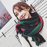 Sfqhc Damen Winter Schal Winterschal Doppelseitiger Volltonschal Mit Doppeltem Verwendungszweck Zum Lernen Eines Warmen Schals