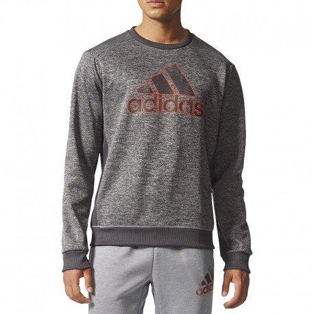 Adidas BQ4745 Sweat-Shirt Homme, Noir/Chsogr, FR : d'occasion  Livré partout en Belgique