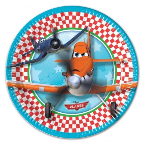 Price comparison product image Disney Planes Paper Plates pack of 8