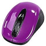 Hama AM-7300 RF Wireless Optisch 1000DPI Ambidextrös Schwarz Maus - Mäuse (Ambidextrös, Optisch, RF Wireless, 1000 DPI, Schwarz)