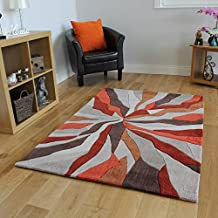 Amazon.it: tappeti arancioni soggiorno
