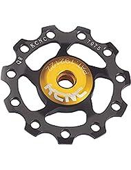 KCNC Jockey Wheel Ultra - Roldana de cambio - 11 dientes negro 2014 Piezas de cambios y accesorios