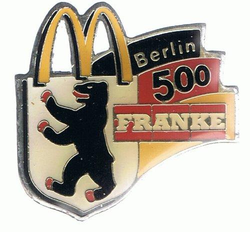 Preisvergleich Produktbild Mc Donalds - Franke - 500 - Berlin - Pin
