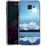 Samsung Galaxy A3 (2016) Housse Étui Protection Coque Montagne Neige Sommet