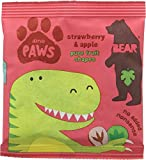 Dino Paws Strawberry & Apple Fruit Shapes 20 g (Pack of 18)